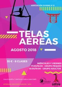 CLASES DE TELAS AÉREAS