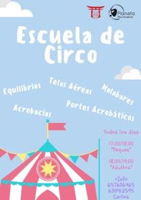 CLASES DE CIRCO (PARA TODAS LAS EDADES)