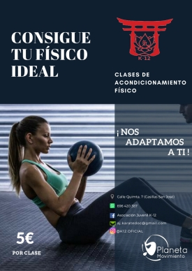CLASES ACONDICIONAMIENTO FÍSICO