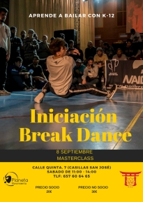 INICIACIÓN BREAK DANCE