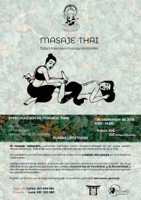 TALLER DE MASAJE THAI